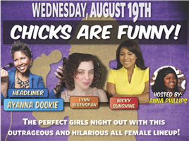 Chicks Are Funny - August