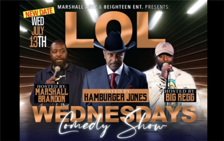 LOL Comedy Show - Talent The Comedian & Marshall Brandon