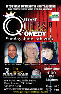 Queer Queens of Qomedy