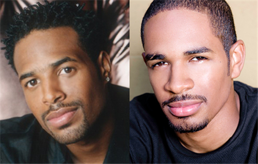 Shawn and Damon Jr Wayans