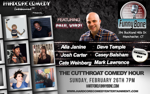 Cutthroat Comedy: Paul Virzi