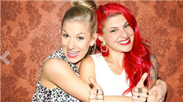 Carly Aquilino and Jessimae Peluso from Girl Code